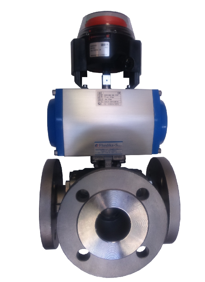 TRIPOTNI VENTIL GENEBRE THREE WAY BALL VALVE